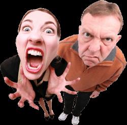 2 mad customers