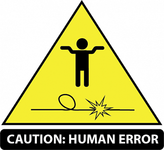 human error without moving software