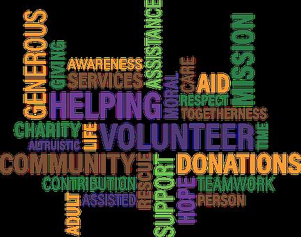 Volunteer, Charity, Cloud, Community